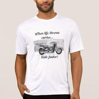 生命はカーブを投げます Tシャツ