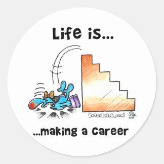 生命はキャリアを作っています ラウンドシール