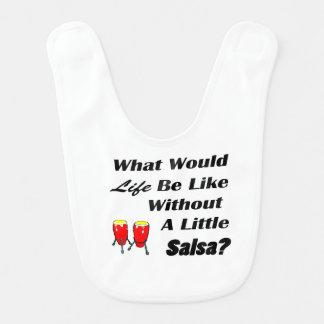 生命はサルサのbkの文字の赤のコンガなしにのようです ベビービブ