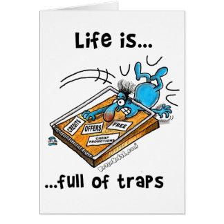 生命はトラップの完全です カード