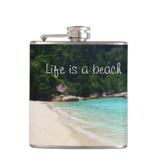 生命はビーチです フラスク