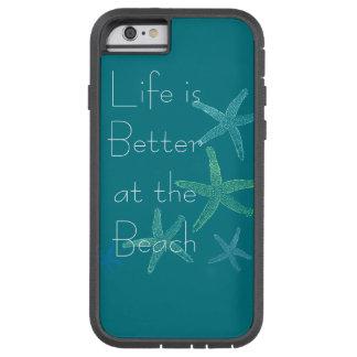 生命はビーチでよりよいです TOUGH XTREME iPhone 6 ケース