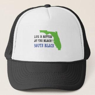 生命はビーチの南ビーチでよりよいです キャップ