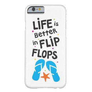 生命はビーチサンダルでよりよいです BARELY THERE iPhone 6 ケース