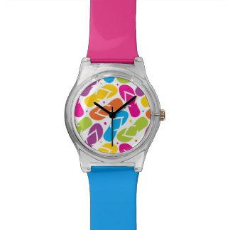 生命はビーチサンダルパターンでよりよいです 腕時計