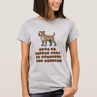 生命はピットテリアとよりよいです Tシャツ