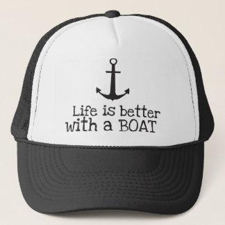 生命はボートとよりよいです キャップ