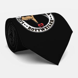生命はロットワイラー犬の品種とよりよいです オリジナルネクタイ