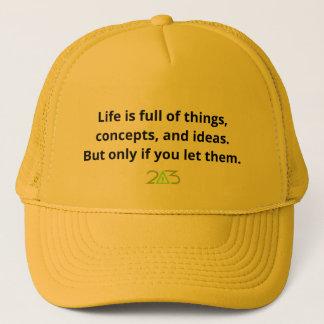 生命は事の完全です キャップ