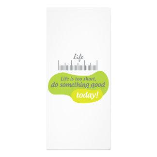 生命は余りに短いです、今日しますよい何かを! ラックカード