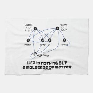 生命は問題の物理学の糖蜜です キッチンタオル