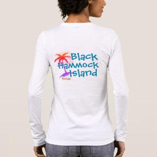 生命は島の長袖のティーに…あります 長袖Tシャツ
