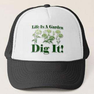 生命は庭です キャップ