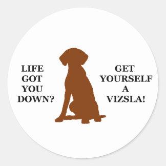 生命は得ましたか。 あなた自身にVizslaを得て下さい! ラウンドシール