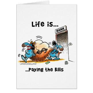 生命は支払手形です カード