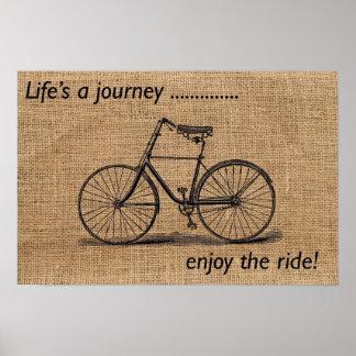 生命は旅行…楽しみます乗車をです! ポスター