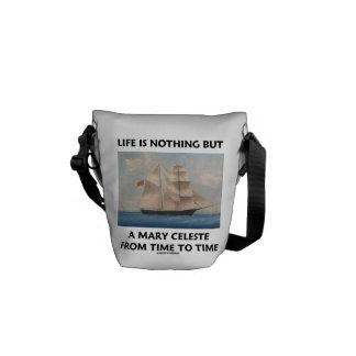 生命は時間を計るメリーCeleste時間です クーリエバッグ