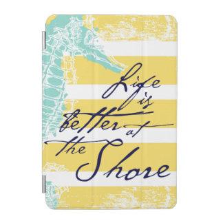 生命は海岸でよりよいです iPad MINIカバー