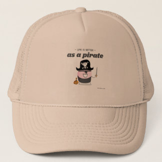 生命は海賊としてよりよいです キャップ