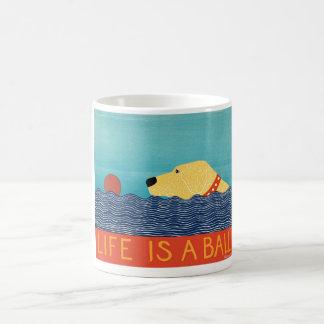 生命は球のマグスティーブンHuneckです コーヒーマグカップ