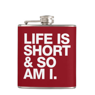 生命は短かったり及び従って私おもしろいな引用文です フラスク