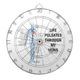 生命は私の静脈(静脈システム)を通って脈動します ダーツボード