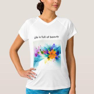 生命は美しいの完全であり、私はそれらの1才です Tシャツ