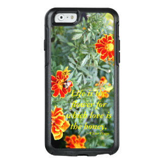 生命は花です オッターボックスiPhone 6/6Sケース