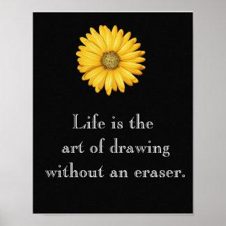 生命は芸術です --- 芸術ポスター ポスター
