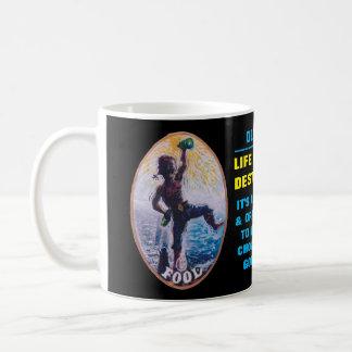 生命は行先-船員の専門のマグではないです コーヒーマグカップ
