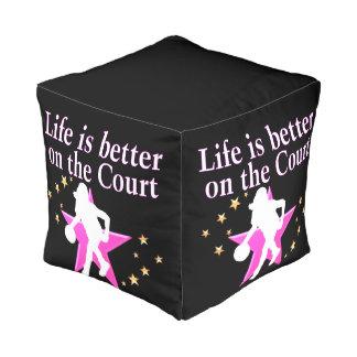 生命は裁判所でよりよいです プーフ