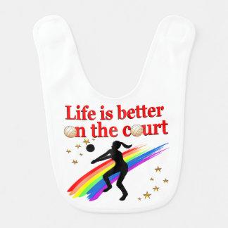 生命は裁判所のバレーボールのデザインでよりよいです ベビービブ