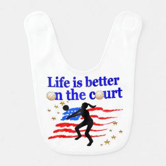 生命は裁判所米国のバレーボールのデザインでよりよいです ベビービブ