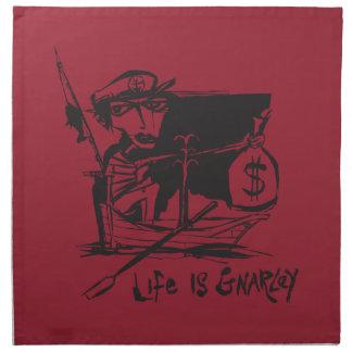 生命はGnarleyです ナプキンクロス