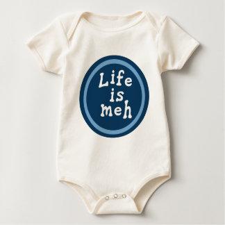 生命はMehです ベビーボディスーツ