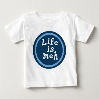 生命はMehです ベビーTシャツ