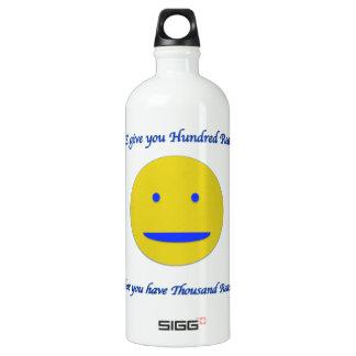 生命へのスマイル ウォーターボトル