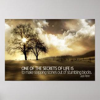 生命やる気を起こさせるなポスターの秘密 ポスター