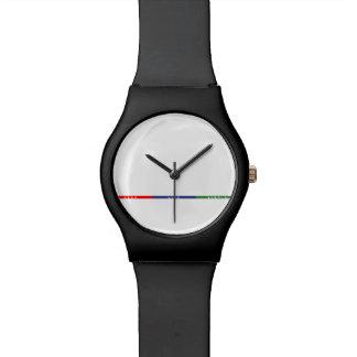 生命をシンプル保って下さい 腕時計
