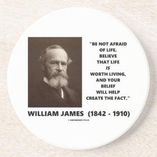 生命ウィリアム・ジェームズの引用文を恐れていないで下さいあないで下さい コースター