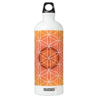 生命オレンジの2チャクラの花 ウォーターボトル
