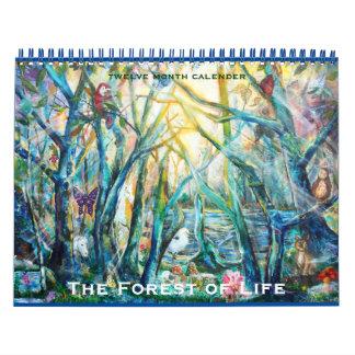生命カレンダーの森林 カレンダー