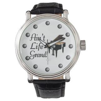 生命グランドピアノはありません 腕時計