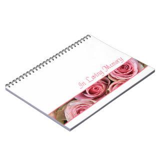 生命ゲストブックのお祝い ノートブック