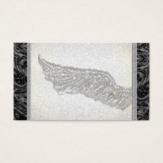 生命コーチの精神的な天使の翼の名刺 名刺