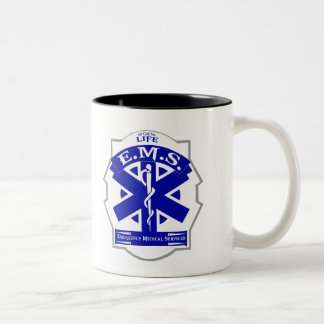 生命コーヒー・マグのための呼出しのEMS ツートーンマグカップ