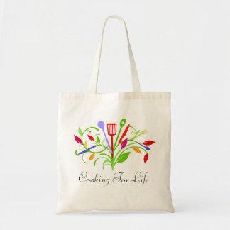 生命トートのための調理 トートバッグ