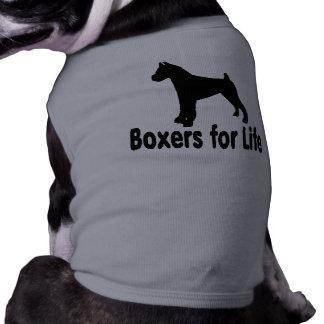 生命ペット衣類のためのかわいく、愛らしいボクサー ペット服