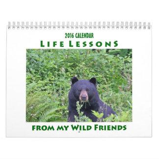 生命レッスン動物のカレンダー2016年 カレンダー