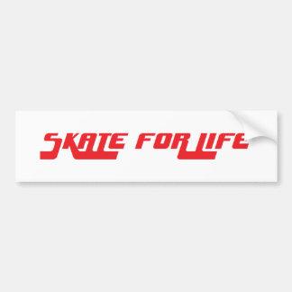 生命レトロのステッカーのためのスケート バンパーステッカー